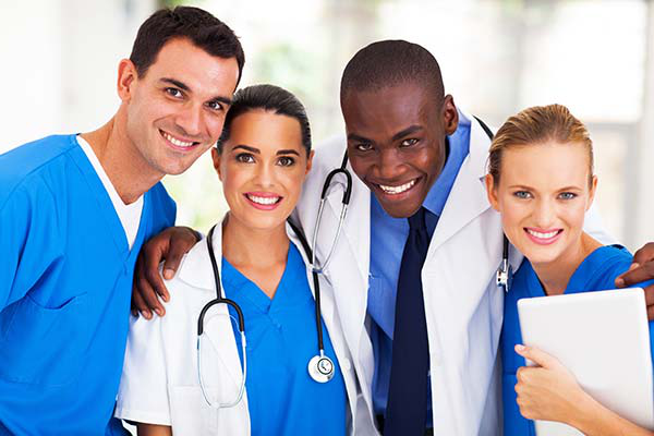 Photo of group of healthcare providers